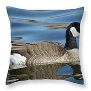 Cackling Goose Throw Pillow