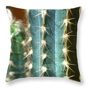 Cactus 3 Throw Pillow