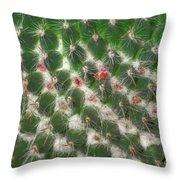 Cactus 5 Throw Pillow