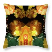 Cactus Flower 08-005 Abstract Throw Pillow