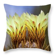 Cactus Life Throw Pillow