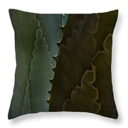 Cactus Outlined Throw Pillow