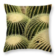 Cactus Party Throw Pillow