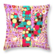 Cactus Pop Art Throw Pillow