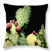 Cactus Two Throw Pillow