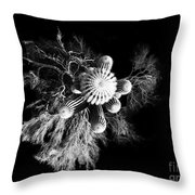 Cactus With Palo Verde Throw Pillow