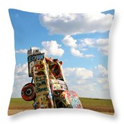 Caddies N Clouds One Throw Pillow