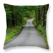 Cades Cove Throw Pillow