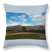 Cades Cove In Autumn Throw Pillow