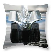 Cadillac Angel Throw Pillow