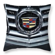 Cadillac Grill Throw Pillow