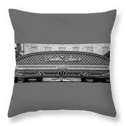 Cadillac Palace Throw Pillow