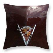 1949 Cadillac La Salle - Hood Ornaments Throw Pillow