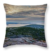 Cadillac Sky Throw Pillow