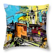 Cadiz Spain 02 Bis Throw Pillow