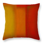 Cadmium Lemon Throw Pillow