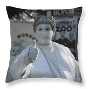 Caesar Ish  Throw Pillow