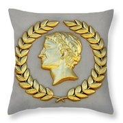 Caesar's Palace Throw Pillow
