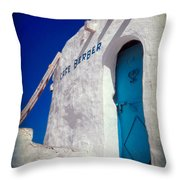 Cafe Berber Throw Pillow