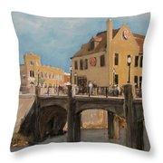 Cafe Hollander 1 Throw Pillow