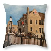 Cafe Hollander 2 Throw Pillow