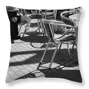Cafe Hydrant Throw Pillow