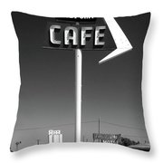 Cafe Midpoint Throw Pillow