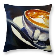 Cafe Noisette Throw Pillow