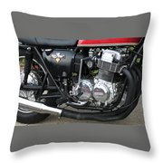 Cb750 Cafe Racer Throw Pillow