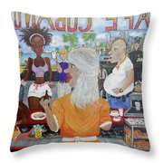 Cafeteria Throw Pillow