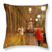 Caffe Florian Arcade Throw Pillow