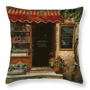 caffe Re Throw Pillow
