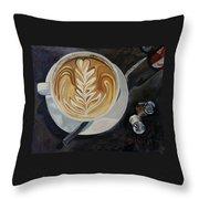 Caffe Vero Cappie Throw Pillow