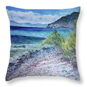 Cagliari Sardinia Italy 2016 Throw Pillow
