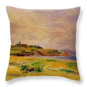 Cagnes Landscape 1910 2 Throw Pillow