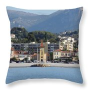 Cagnes Sur Mer Throw Pillow