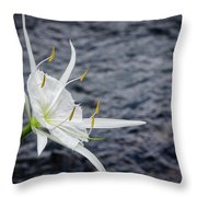 Cahaba Lily #1 Throw Pillow