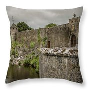 Cahir Castle 1384 Throw Pillow