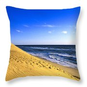 Cahoon Beach Throw Pillow