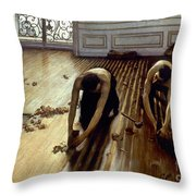 Caillebotte: Planers, 1875 Throw Pillow