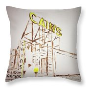 Cain's Throw Pillow