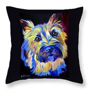 Cairn - Neiman Throw Pillow by Alicia VanNoy Call