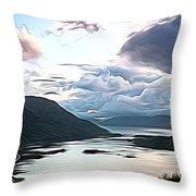 Cairngorms Throw Pillow