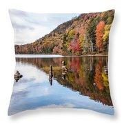 Cairns On Moss Lake Throw Pillow