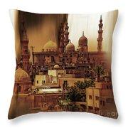 Cairo Egypt Art 03 Throw Pillow