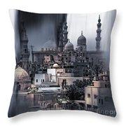Cairo Egypt Art Throw Pillow