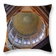 Cairo Nilometer Throw Pillow