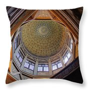 Cairo Nilometer Throw Pillow