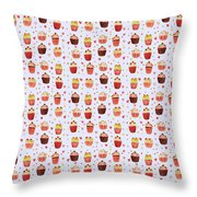 Cakes Jp04 Throw Pillow