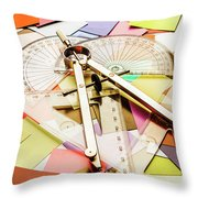 Calculating Infinity Throw Pillow